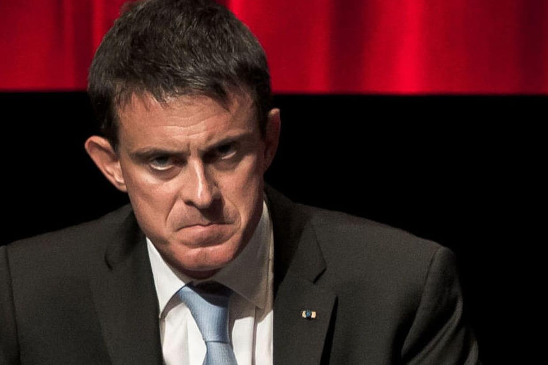 Manuel Valls giflé par un jeune à Lamballe — Primaire PS