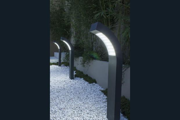 Des Lampes Pour Un Chemin