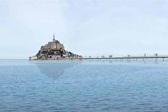 Le visage du Mont Saint Michel en 2020