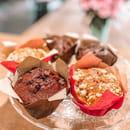 Dessert : Healthy Café  - Muffin chocolat ou fruits rouges -   © Healthy café
