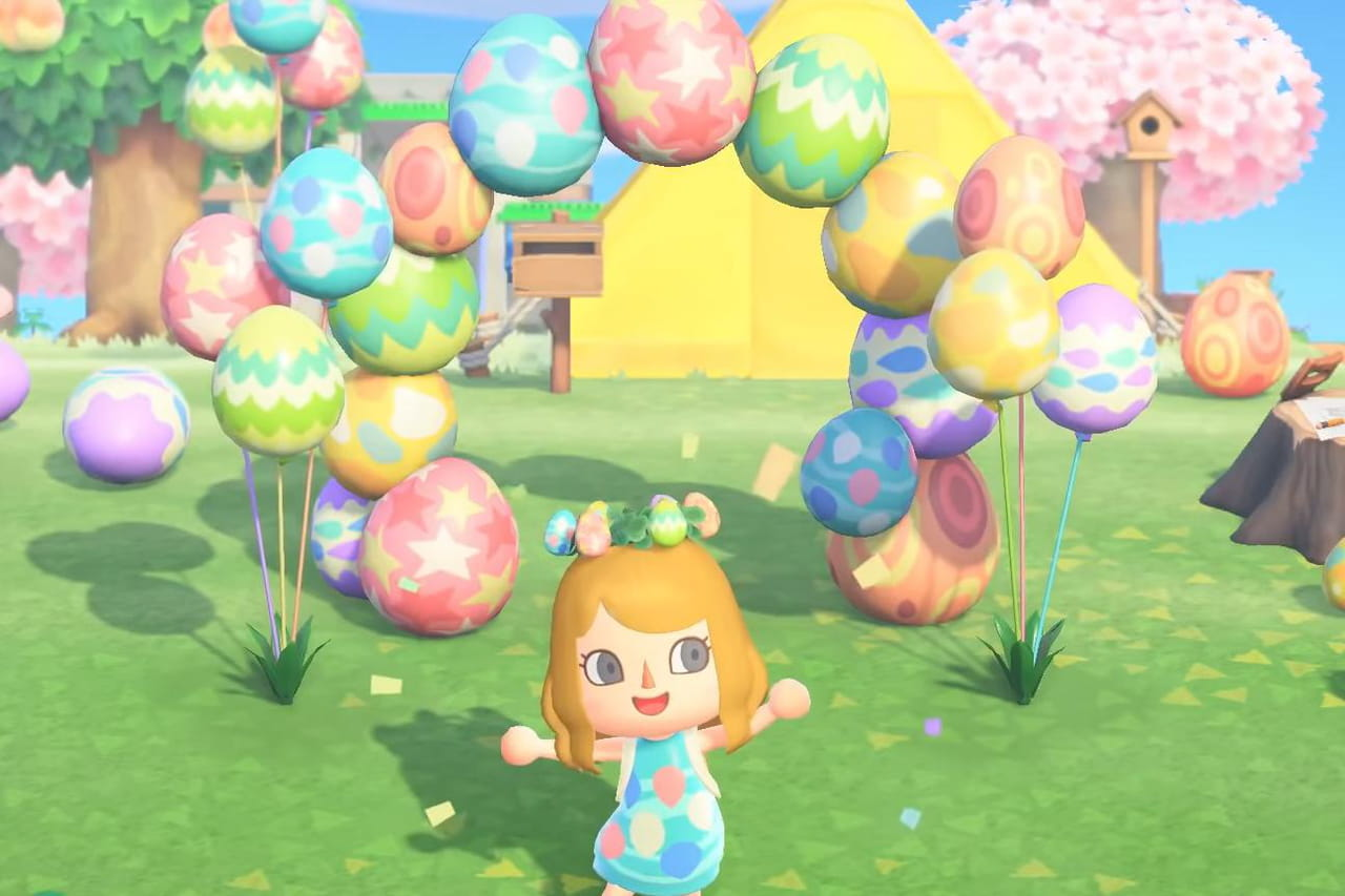 Animal Crossing New Horizons : le taux d'apparition des oeufs modifié