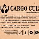 Cargo Culte  - carte de visite Cargo Culte -   © pauline gauttier