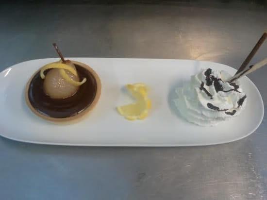 Les Canailles  - tarte choco-poire -