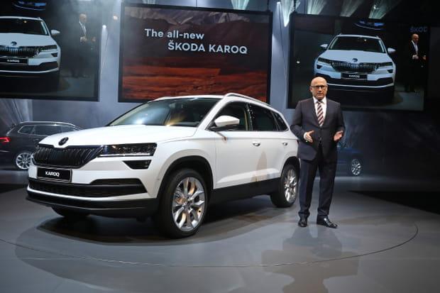 Le Skoda Karoq, un nouveau SUV compact