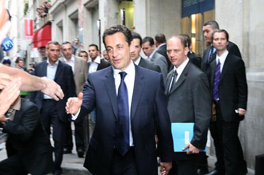 Un soir de victoire pour Nicolas Sarkozy