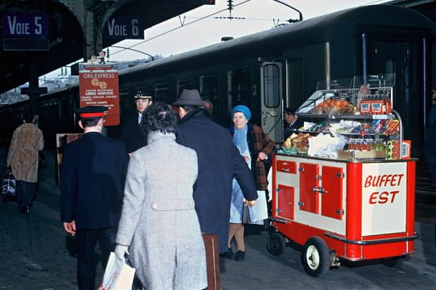 1971: Buffet de la gare de L'Est