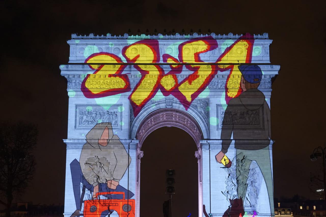 Arc de triomphe: le déroulé et les horaires du spectacle prévu pour le Nouvel An 2019