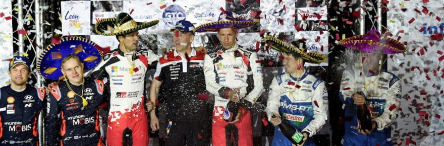 Ogier ouvre son compteur au Rallye du Mexique, écourté à cause du coronavirus
