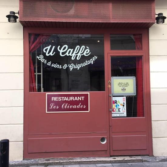 Les Olivades-U Caffè