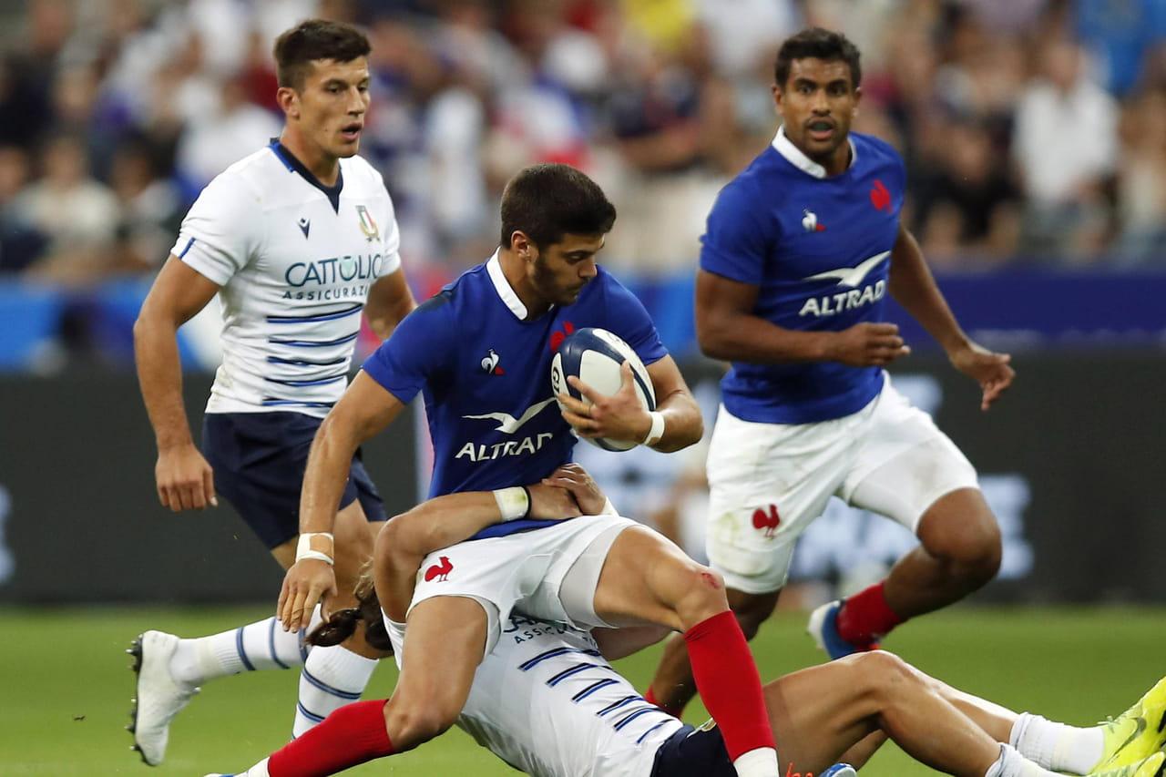 Coupe du monde de rugby: une victoire fleuve des Bleus, le résumé de France - Italie