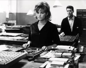 Claudia Cardinale, jeune, en 1960, dans le film La ragazza di Bube