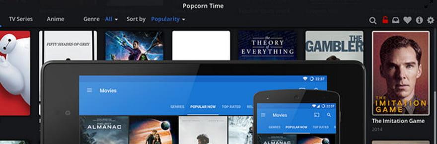 Popcorn Time: leconcurrent illégal de Netflix est mort, mais propose unealternative, Butter Project