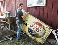 American Pickers, la brocante made in USA : Bonnie, Clyde and the King