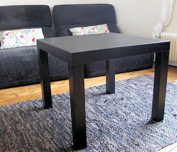 la table basse. Black Bedroom Furniture Sets. Home Design Ideas