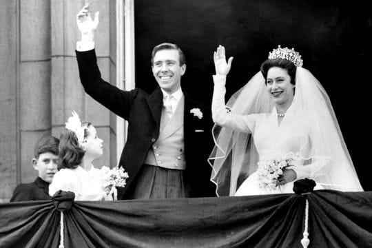 Le mariage de la Princesse Margaret en 1960