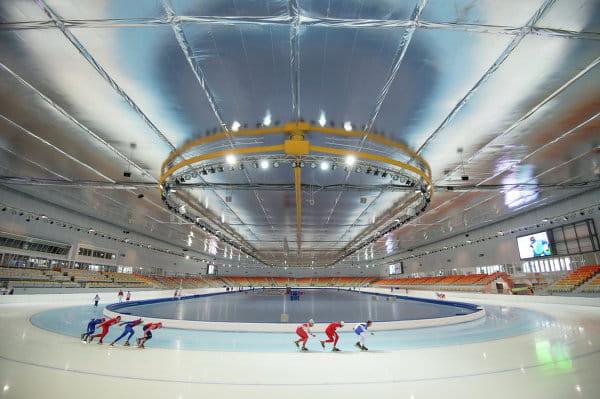 Adler Arena, le centre de patinage de vitesse