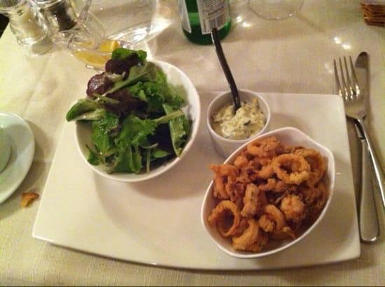 Entrée : Au Sourd  - Fricassé de calamars - Menu a 35€  -