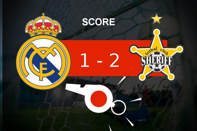 Real Madrid - Tiraspol: désillusion pour le Real Madrid (1- 2), les moments clés du match