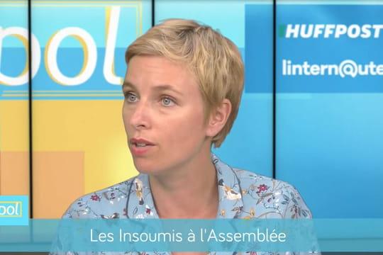 """Clémentine Autain: """"Oui, on peut être en désaccord avec Mélenchon"""""""