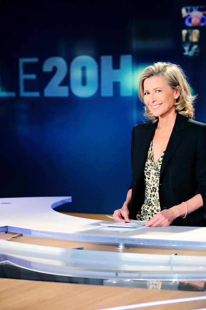 le journal de 20h de claire chazal. Black Bedroom Furniture Sets. Home Design Ideas