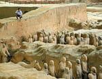 Le tombeau du premier Empereur de Chine