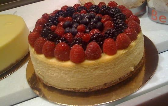 Berko  - Cheese Cake aux fruits -   © Régis Clerc