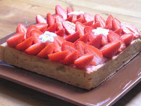 Dessert : Le Colimaçon  - TARTE FRAISE -   © BULET MAGALI