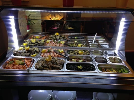 Restaurant : Les Blés d'Or  - Buffet de fruits de mer  -