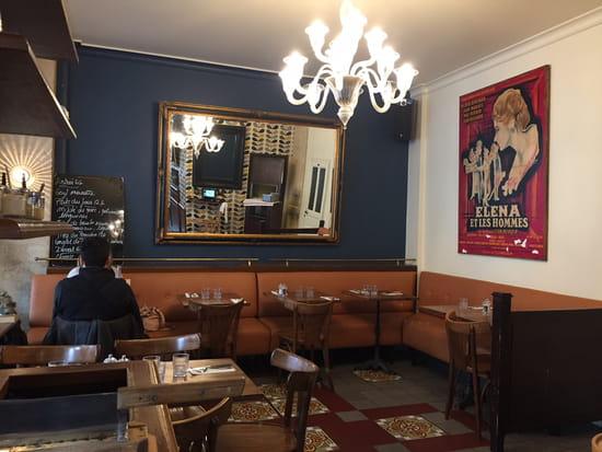 Restaurant : Les Ptits Gros Diderot  - Salle du fond -   © NZ
