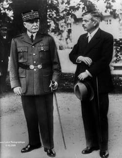 Philippe Pétain et Pierre Laval