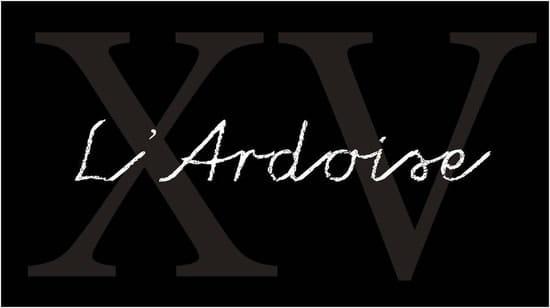 L'Ardoise du XV
