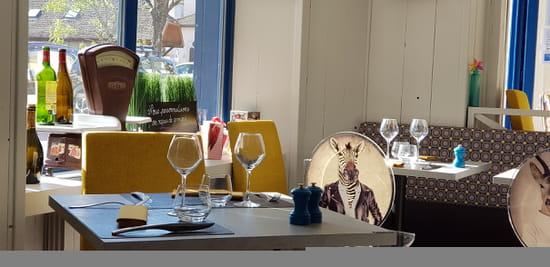 Restaurant : L'Osmose du Lac  - salle -   © 1235