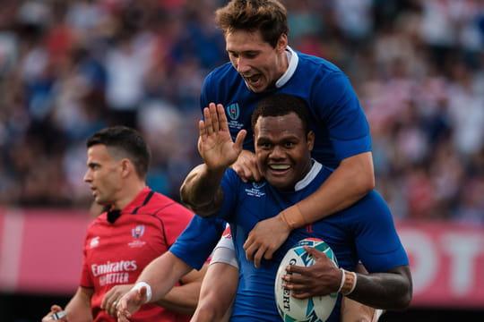 France - Tonga[RUGBY]: une triste victoire offre les quarts aux Bleus, le résumé du match