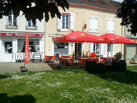 Restaurant : Le Bienvenu  - La terrasse du bienvenu -