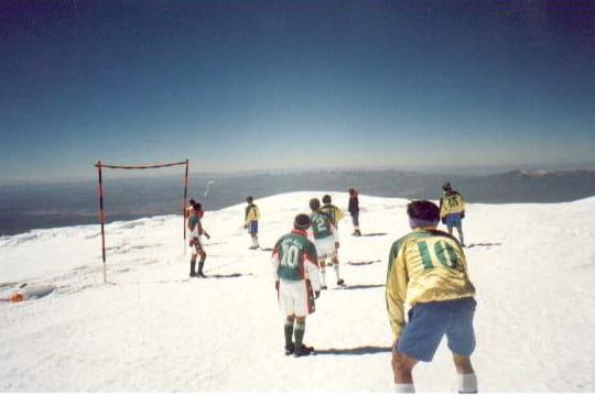 Le match de foot le plus haut du monde