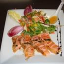 Peniche Mangareva  - Tataki de saumon -   © Mangareva