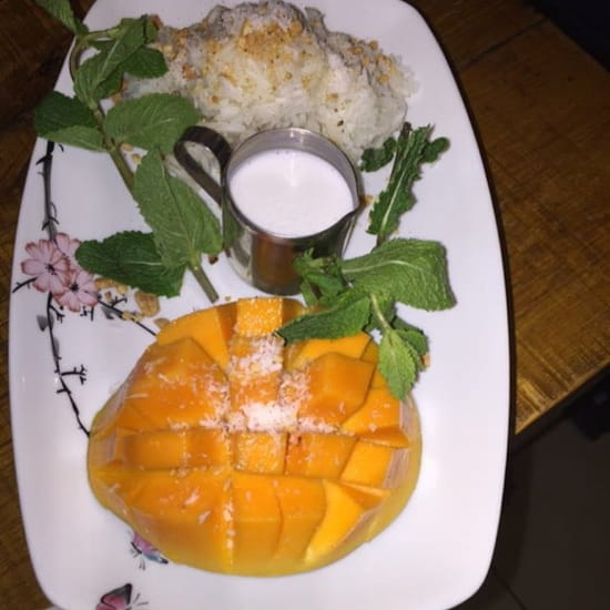 Dessert : Au Chateau  - Mangue Rice coco -