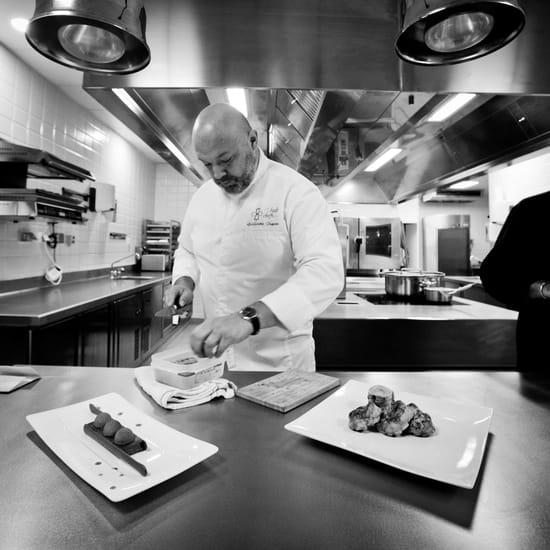Restaurant : Le bistrot de Bacchus  - Le Chef Guillaume Despont -   © G.Canal