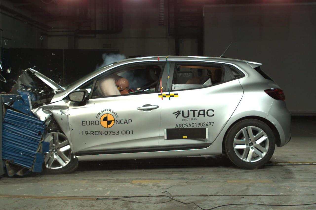 Nouvelle Renault Clio: 5étoiles au crash-test Euro NCAP [prix, photos]