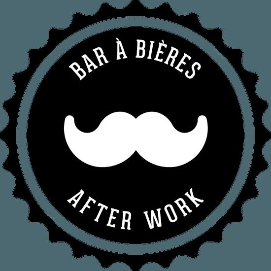 Restaurant : Le White Moustache  - Logo White Moustache -   © WM