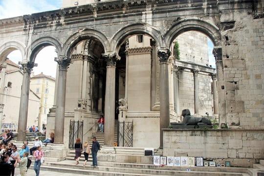 Le palais de Dioclétien à Split