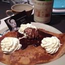 Restaurant : Creperie la Reine Anne  - Une idée dessert  -