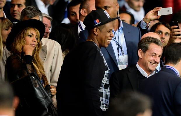 Beyoncé et Jay-Z accueillis par Nicolas Sarkozy