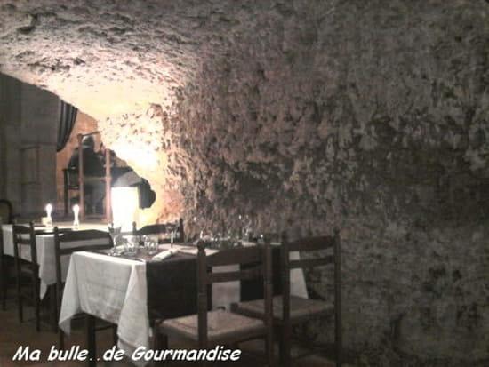 Le Moulin des Saveurs  - la voûte en pierre naturelle -   © bulle2gourmande.canalblog.com
