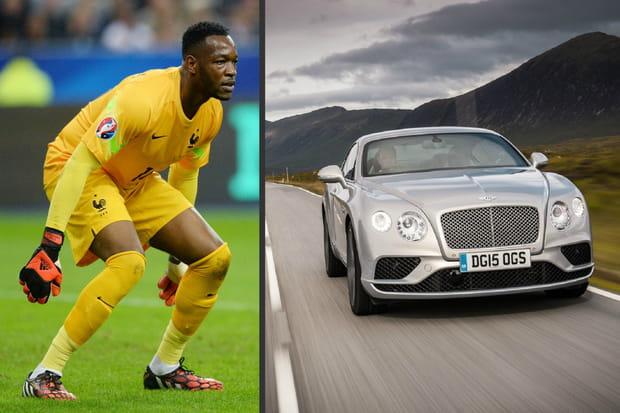 Voiture de Mandanda : Bentley Continental GT
