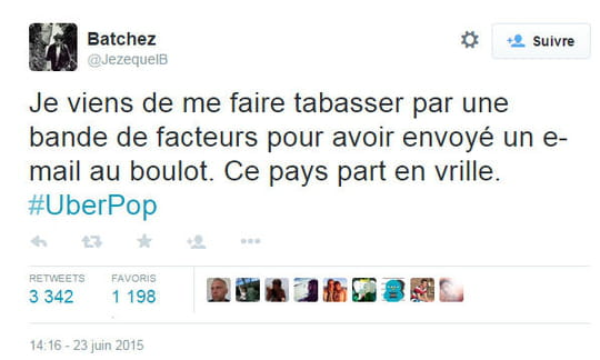Grève des taxis : les meilleures réponses des twittos !