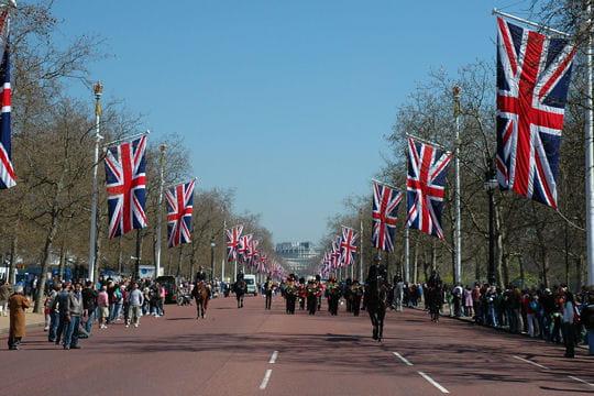 The Mall à Londres, l'avenue des cérémonies