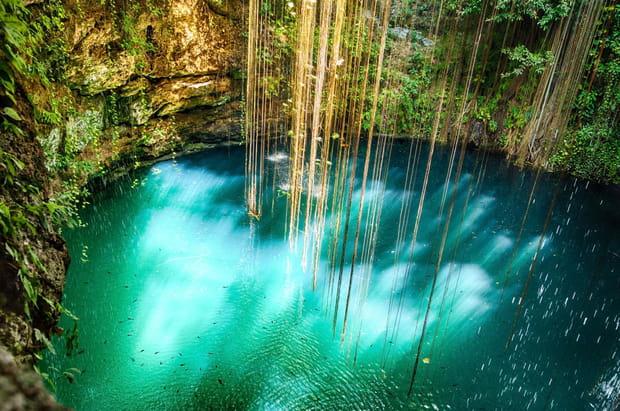 Cenote, Mexique
