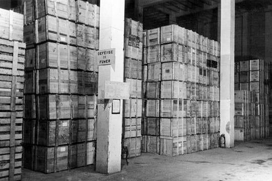 Les caisses de transport