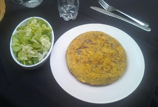 La Cantina Del Conquistadors  - TORTILLA VALANCIANA (raclette-champignons) 12.90 euros  -